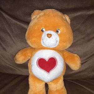 """Vintage 13"""" Care Bear Tender Heart Stuffed Animal for Sale in Los Lunas, NM"""