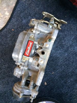 Chevy Edelbrock carburetor for Sale in Largo, FL