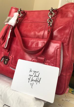 Brand New Coach Pink Tote for Sale in Laurel, MD