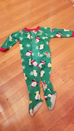 Carter's Kid's Christmas Pajamas, size 24m for Sale in Sterling, VA