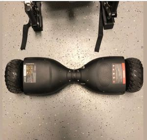 Hoverboard with cart Bluetooth music and lights. for Sale in St. Petersburg, FL
