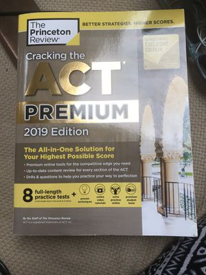 ACT BOOK for Sale in Naperville, IL