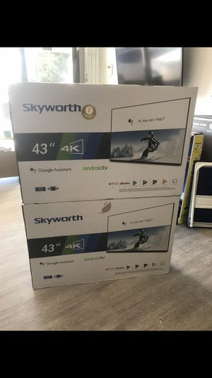 43 INCH SKYWORTH ANDROID SMART TV for Sale in Chino Hills, CA