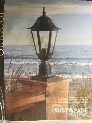Post lantern for Sale in Tampa, FL