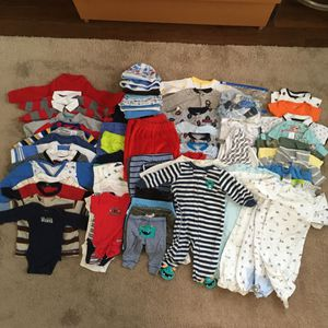 Baby Clothes Lot 0-3 months for Sale in Boston, MA