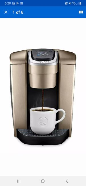 Keurig K-Elite K90 Coffee Maker - Brushed Gold With Iced Coffee Capability for Sale in Henderson, NV