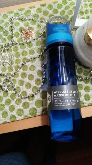 Bluetooth Wireless speaker water bottle for Sale in Long Beach, CA