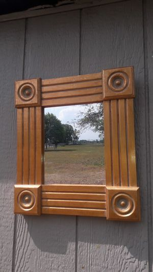 Gold antique mirror for Sale in Davenport, FL
