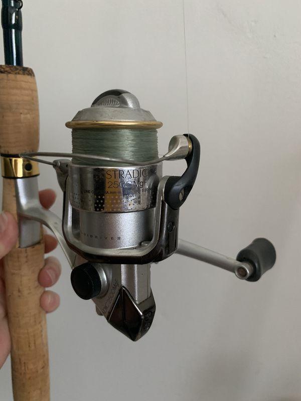 Fish Eagle Rod & Stradic Reel