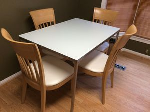 Kitchen Table and Chairs for Sale in Rockville, MD