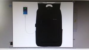 "Laptop Backpack, USB Port, 15.6"" Laptop, School, Travel, Hiking, Black, Kopack, NEW for Sale in Goodyear, AZ"
