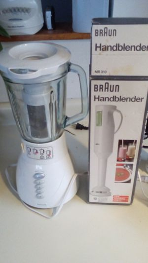 Philips and Braun blenders for Sale in Homestead, PA