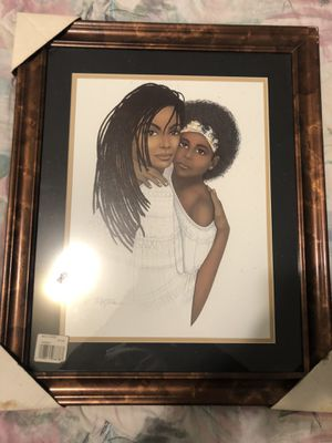 Incredible Picture W Frame for Sale in Durham, NC