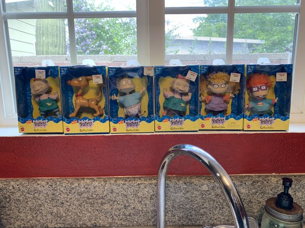 Rugrats 90s toy collectible whole set