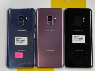 SAMSUNG GALAXY S9 64GB UNLOCKED FOR ALL CARRIERS DESBLOQUEO for Sale in Garland,  TX