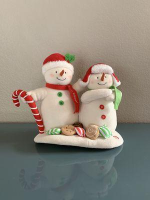 Hallmark 2008 Season's Treatings Musical Plush Snowman Duo Jingle Pal Singing for Sale in Las Vegas, NV
