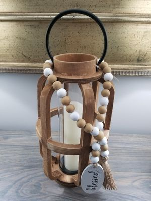 Home Decor Farmhouse Lantern Candle Holder for Sale in Jackson Township, NJ