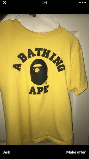 Bape college tee for Sale in Severn, MD