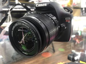 Canon EOS Rebel T3 for Sale in Dallas, TX