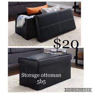 Storage Ottoman 5b5 for Sale in Dallas, TX