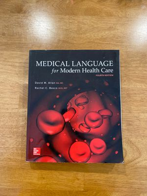Medical Language for Modern Health Care - McGraw Hill Education (4th Edition) for Sale in Novato, CA