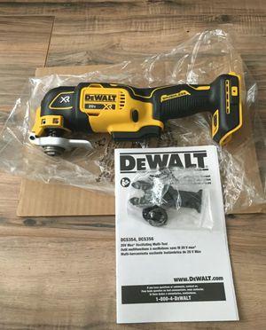 DEWALT DCS-356 Oscillating Multi-Tool 20V Max XR Brushless 3-Speed for Sale in Miami, FL