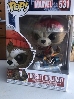 Marvel: Holiday Rocket #531 Funko POP for Sale in Paramount,  CA