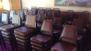 120 stackable banquet chairs for Sale in Ithaca, NY