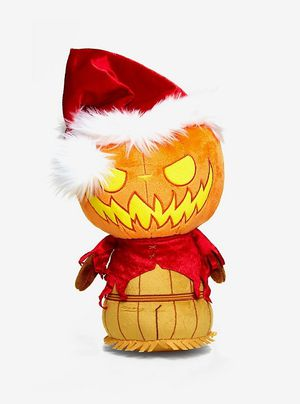 FUNKO THE NIGHTMARE BEFORE CHRISTMAS SUPERCUTE PLUSHIES PUMPKIN KING SANTA COLLECTIBLE PLUSH HOT TOPIC EXCLUSIVE for Sale in Norwalk, CA