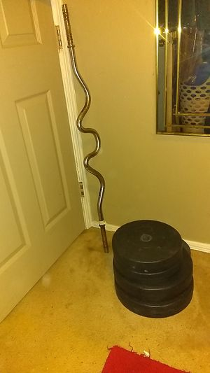 Weighted Curl Bar for Sale in Oklahoma City, OK