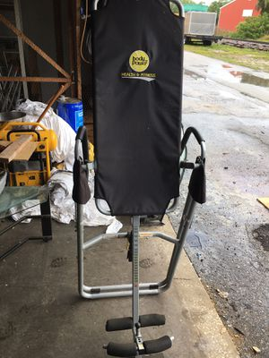 Body Power Health & Fitness Inversion Table for Sale in Dunedin, FL