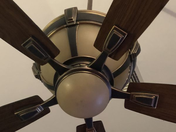 Fan with lights with remote control