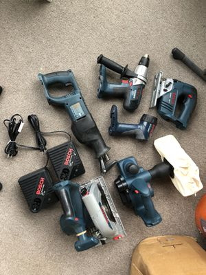 Bosch power tools for Sale in Tampa, FL