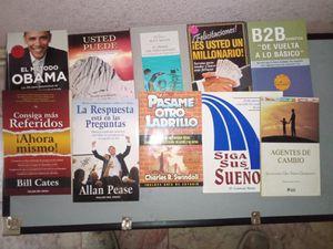 Libros de superación personal. for Sale in Fort Worth, TX