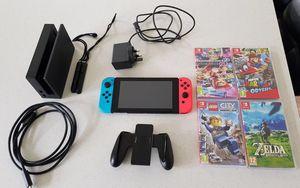 Nintendo switch bundle for Sale in Houston, TX
