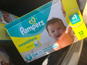 Pampers size 2 (124) for Sale in Phillips Ranch, CA