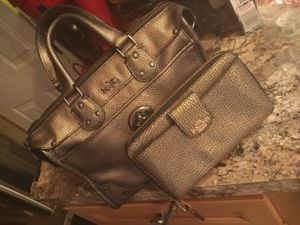 Coach Metallic Gold Pebbled Set!!!, for Sale in Walton Hills, OH
