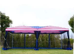 Patriotic 4 of July Gazebo Pop up Party Tent 10' x 20' Party Outdoor Garden for Sale in Carson, CA