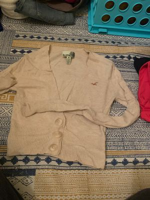 hollister cardigan for Sale in Waterbury, CT