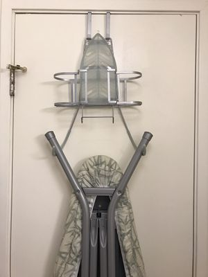 Iron and Iron board door holder + iron board. FREE DELIVERY in SF! for Sale in San Francisco, CA