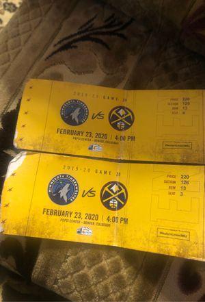 Naget tickets for Sale in Denver, CO