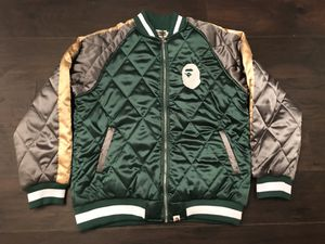 A Bathing Ape BAPE Varsity Jacket sz XXL (Fits Small) for Sale in Indian Trail, NC