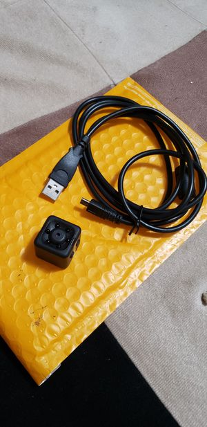 *NEW*mini hidden Camera W/ Cable, Clip for Sale in Massillon, OH