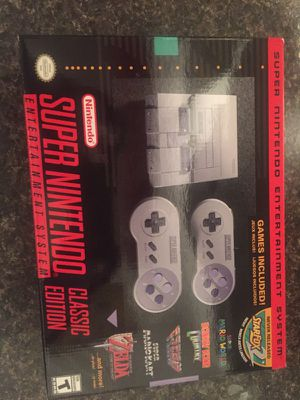 SNES new in box for Sale in Austin, TX