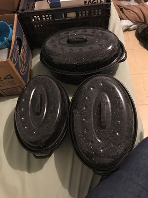 12-16-20 in oven pots for Sale in Edinburg, TX