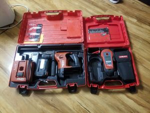 Hilti 36volt nicad hammer drill and hilti wall scanner for Sale in Alexandria, VA