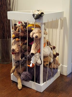 Stuffed Toy Storage(New, Hand-crafted,Wood) for Sale in Pleasantville, NY