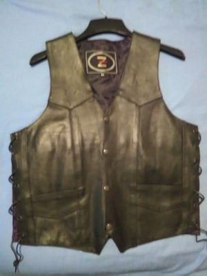 Motorcycle vest size 40 for Sale in Brooklyn, NY