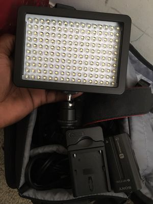 9a9bf85075b LED Continuous Light Attachment for DSLR for Sale in Newark