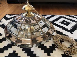 Vintage Chandelier hanging lamp for Sale in Portland, OR